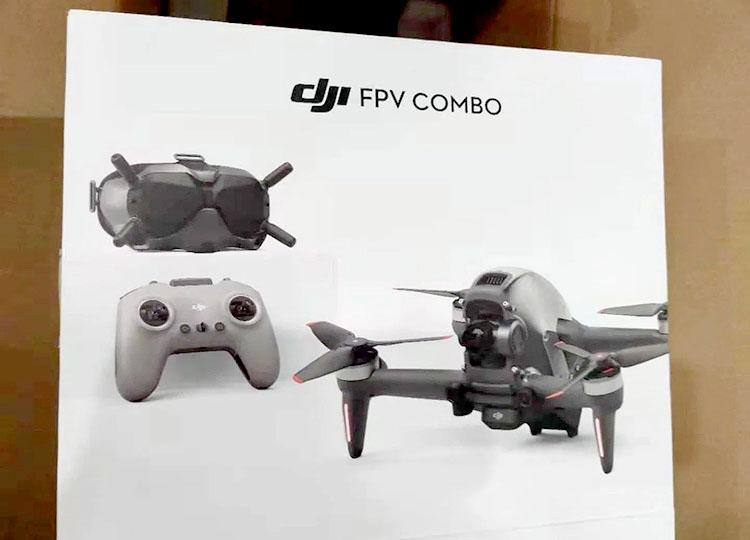 DJI FPV дрон
